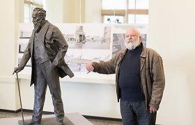 Vilniaus savivaldybė nepaisys VPT rekomendacijų skelbti naują J.Basanavičiaus skulptūros konkursą
