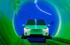 Pirmasis greitasis požeminis tunelis Las Vegase beveik baigtas: Elonas Muskas davė intriguojantį pažadą