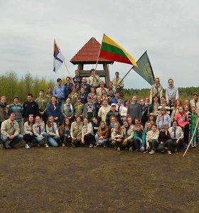 Žemaitijos skautai pradėjo stovyklų sezoną