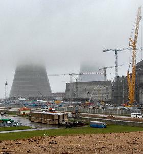 Branduolinio kuro pristatymas į Astravo AE atidėtas iki birželio