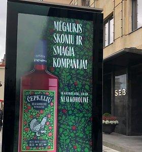 """""""Čepkelių"""" nealkoholinės netrauktinės reklamos byla: o kodėl aludariams galima?"""