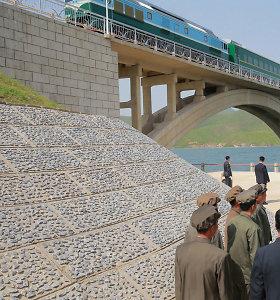 Per 3-4 metus planuojama atnaujinti susisiekimą geležinkeliais tarp Šiaurės ir Pietų Korėjos