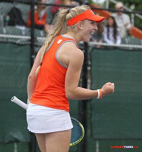 Joana Eidukonytė sėkmingai startavo ITF turnyre Lenkijoje