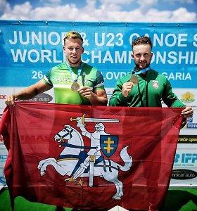 Pasaulio baidarių ir kanojų irklavimo čempionate lietuviai taikysis į medalius
