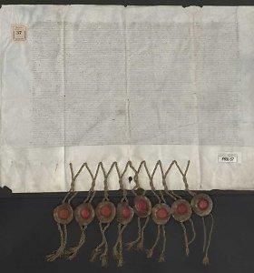 LMA Vrublevskių bibliotekoje – pergamentas su trijų Radvilų parašais