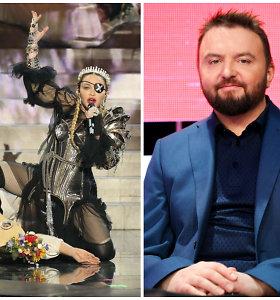 Pabandžiusi pagudrauti Madonna prajuokino Stano: oficialiame puslapyje paviešino suredaguotą pasirodymą