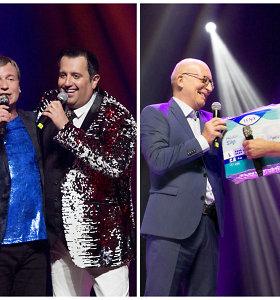 Žilvinas Žvagulis 54-ąjį gimtadienį sutiko scenoje: draugus ir gimines sukvietė į koncertą Palangoje