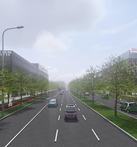 Vilniaus Šiaurinės gatvės projektą žada pagaliau išjudinti: statybos – galbūt dar šiemet