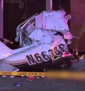 Teksase sudužus nedideliam lėktuvui žuvo trys žmonės