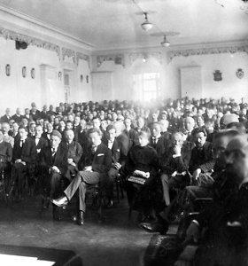 Parlamentarai paminės Steigiamojo Seimo šimtmetį