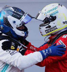 """""""Formulė 1"""": Azerbaidžane """"Ferrari"""" stebuklo nesukūrė"""