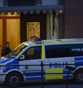 Švedijoje per susišaudymą sužeisti septyni žmonės, policija sulaikė 12 asmenų