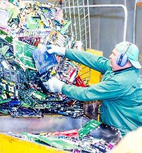 Elektronikos atliekų tvarkymas kitąmet brangs