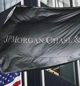 """""""JPMorgan Chase"""" ir dar 11 bankų skirta 250 mln. JAV dolerių bauda už manipuliacijas"""