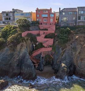 Retas perlas: už 15 mln. parduodamas įspūdingas namas ant uolos krašto