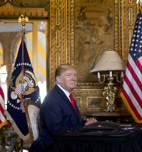 Demokratai ragina respublikonus elgtis drąsiai per D.Trumpo apkaltos teismą