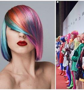 Lietuvės plaukų stilistės tarptautiniame konkurse pristatė tris išskirtinius įvaizdžius
