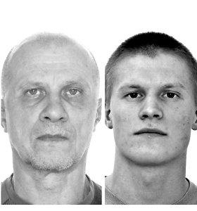 Kauniečio E.Sabulio pagrobimo tyrimas tęsiasi: ieškomi V.Vaitkevičius ir D.Vaitkevičius