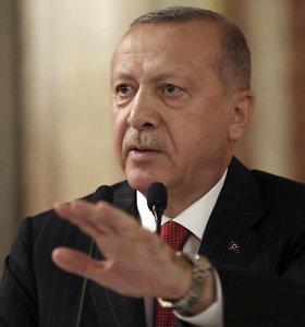 Turkijos prezidentūra: R.T.Erdoganas susitiks su M. Pence'u