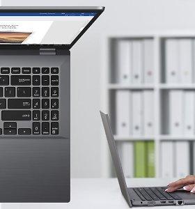ASUS pristatė naujos konstrukcijos ultramobilų kompiuterį verslui