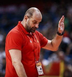 """Juodkalnijos treneris svaidėsi žaibais: """"Mes nepralaimėjome, mus apvogė"""""""