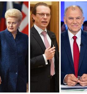 """D.Grybauskaitė, A.Šemeta, V.Andriukaitis: kodėl bilietas į Briuselį """"išrašytas"""" būtent jiems?"""