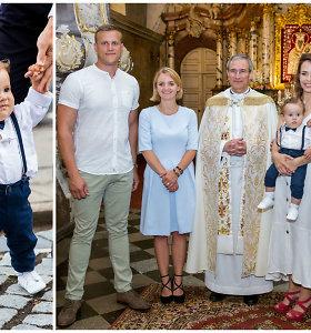 """""""el Fuego"""" nario T.Pavilionio ir G.Lileikaitės šventė: sūnų pakrikštijo ten, kur susituokė"""
