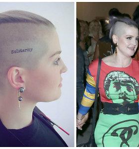 Kelly Osbourne ties smilkiniu pasidarė tatuiruotę, pagerbdama žudynių Orlande aukas