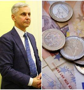 Tarybos nario mandato atsisakantis P.Urbšys neatgaus per 9 tūkst. eurų užstato