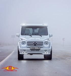 """Šiauliuose ketverius metus tobulintas """"Mercedes G"""" atiteks Rusijos estrados žvaigždei"""