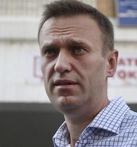 """Kremliaus kritiko Aleksejaus Navalno fondas paskelbtas """"užsienio agentu"""""""
