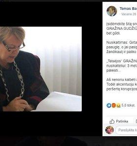 Garsiojoje Jurbarko byloje nuosprendį priėmusi teisėja sulaukė įžeidimų ir kreipsis į teisėsaugą