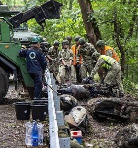 Netradicinis sovietų atsikratymo senomis bombomis būdas šiandien kelia rimtų problemų Kaune