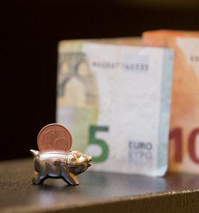 EK: euro neturinčios ES šalys dar nepasirengusios įsivesti bendros valiutos