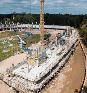 Savivaldybė: Kauno stadiono danga nenusileis toms, kurias turi Europos futbolo grandai