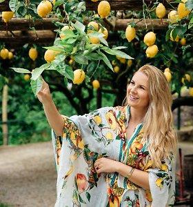 Nuostabi vieta Europoje, kur citrinomis medžiai pražysta