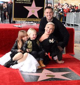 Dainininkė Pink gavo savo vardo žvaigždę Holivudo Šlovės alėjoje