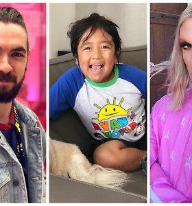 """10 daugiausiai uždirbančių """"YouTube"""" žvaigždžių, tarp kurių – septynmetis žaislų apžvalgininkas"""