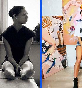 """Monisha – apie baisias baleto patirtis, auglį ir atrastą tapybą: """"Viskas, kas tikra, ateina per kančią"""""""