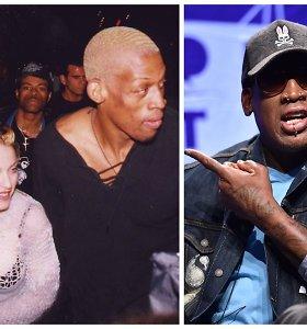 Už apvaisinimą Madonna buvusiam NBA krepšininkui siūlė 20 mln. dolerių