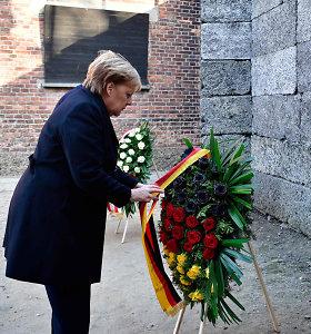 A.Merkel: atminti nacių nusikaltimus – neatsiejama nuo vokiečių tapatybės