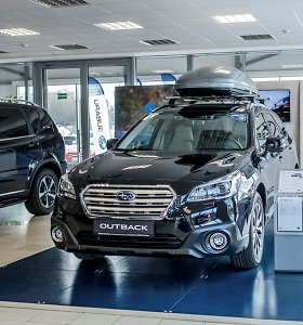 """""""Subaru"""" pirmą elektromobilį pristatys 2021-aisiais"""