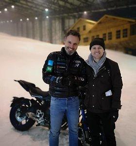 """""""The Coldest Ride"""" projekto sumanytojui Karoliui Mieliauskui išskirtinis BBC dėmesys"""
