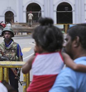 Šri Lankoje po išpuolių prieš musulmonus įvesta komendanto valanda