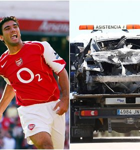 Futbolo žvaigždės žūtį galėjo lemti greitis – automobiliu skriejo 237 km per val.