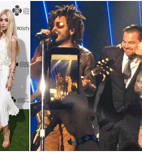 Leonardo DiCaprio labdaros vakare tarp ryškiausių žvaigždžių – ir stilistė Olivija Plekavičiūtė
