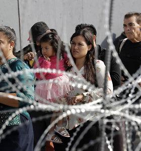 JAV saugumo departamentas prašo Pentagono pratęsti misiją pasienyje su Meksika