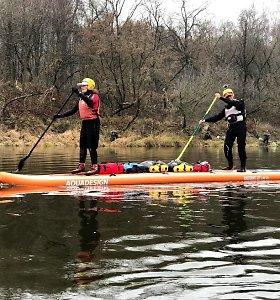 Andreos Ricci kelionės irklente Lietuvos upėmis