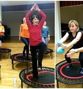 Geros nuotaikos programa: kaip šokinėjimas ant batuto mažina stresą ir išvaduoja nuo nerimastingų minčių