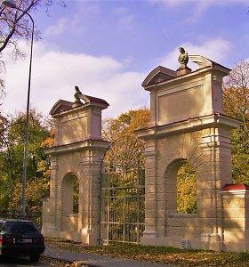 Vilniuje pristatomas atnaujintas Sapiegų parko atkūrimo projektas
